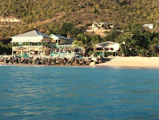 Crab Hill, Antigua: Sea view