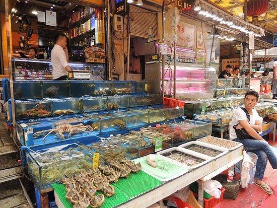广州水产市场_黄沙市场。 - 广州市黄沙水产交易市场的图片 - TripAdvisor