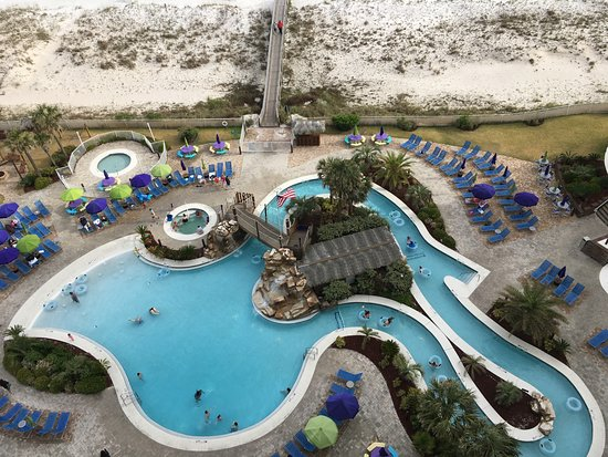 Holiday Inn Resort Pensacola Beach Three Hot Tubs And A Giant Lazy River Heated