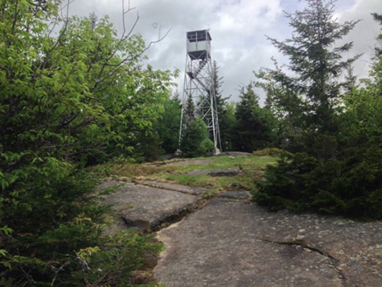 Long Lake, NY: Fire Tower on Owls Head Mountain