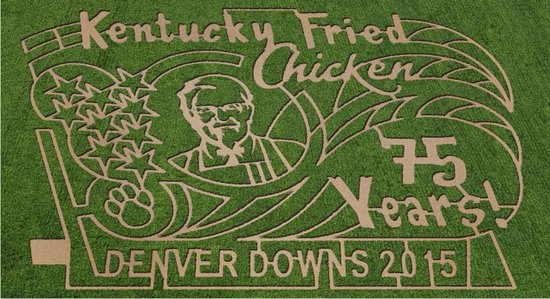 แอนเดอร์สัน, เซาท์แคโรไลนา: 2015 Maze Denver Downs Farm