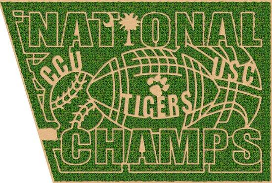 Anderson, Carolina Selatan: 2017 National Champions Maze Denver Downs Farm