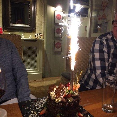 West Witton, UK: Birthday treat