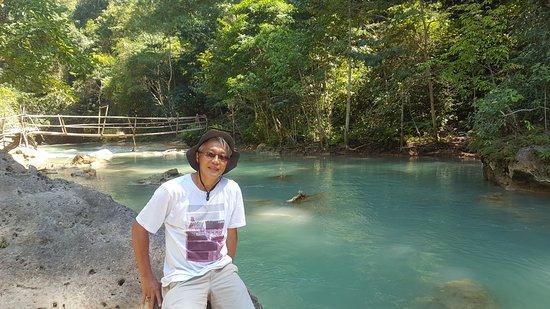 Lapopu Waterfalls: the bridge