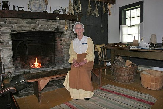 Merrick Thomas Farm House Museum: Volunteers give a warm welcome and information.
