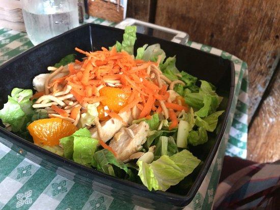 Scotts Valley, Kalifornien: Chinese chicken salad