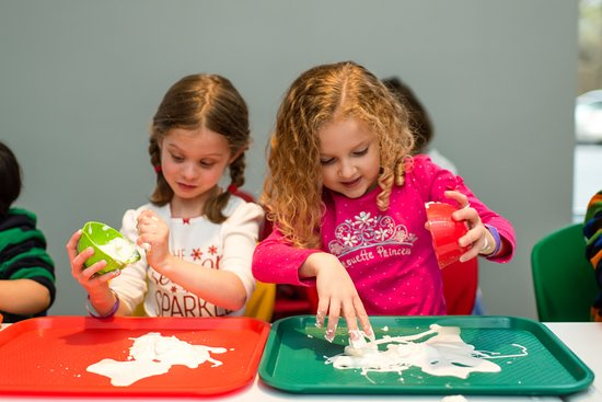 birthday parties at discovery space are very popular especially the