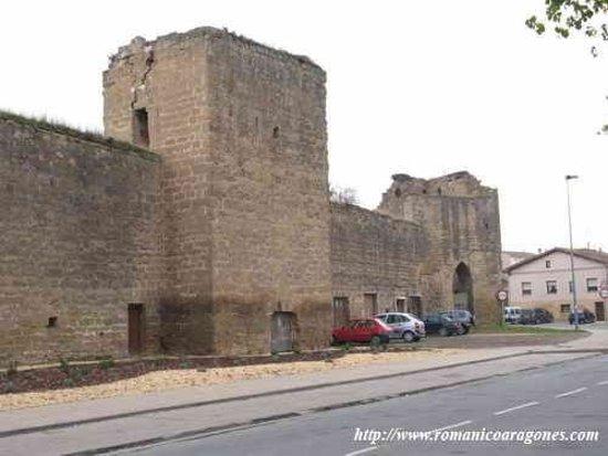 Santo Domingo de la Calzada, Spain: Paños de la Muralla Medieval de Sto.Domingo de la Czda .