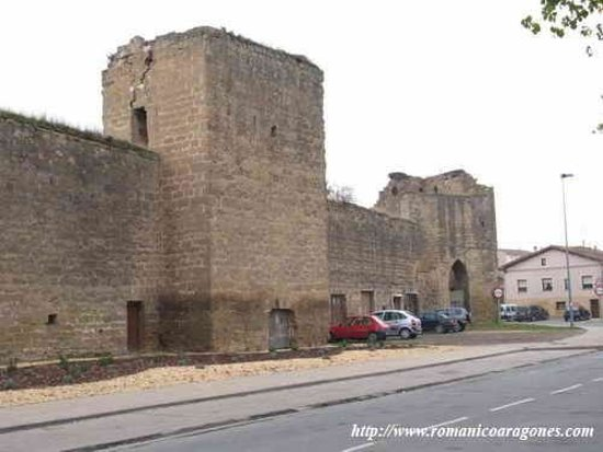 Santo Domingo de la Calzada, Espanja: Paños de la Muralla Medieval de Sto.Domingo de la Czda .