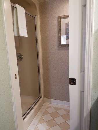 stand up shower stall - Picture of Holiday Inn Express & Suites ...