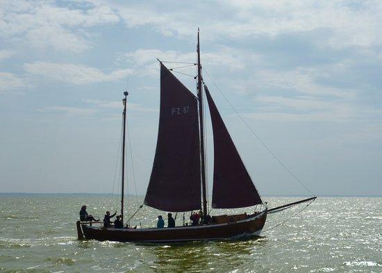Zeesbootsfahrten auf dem Bodden