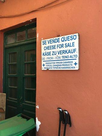 Teno Alto, إسبانيا: Insegna