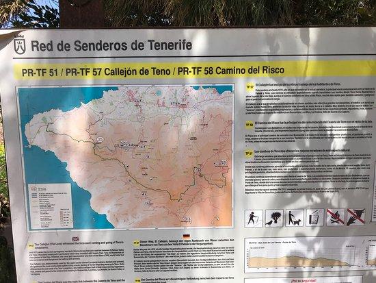 Teno Alto, إسبانيا: Posizione