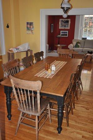 Cowansville, Kanada: Breakfast Room