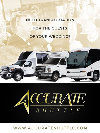 Accurate Shuttle - Global Transportation Services: Do you Transportation for the guests of your Wedding?