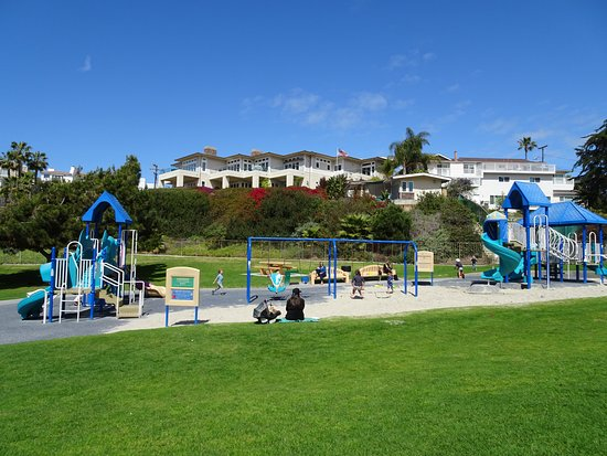 San Clemente, Californien: Play equipment in the park