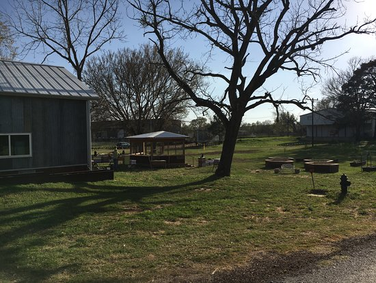 Navasota, TX: Our Garden and Hive Observation Area