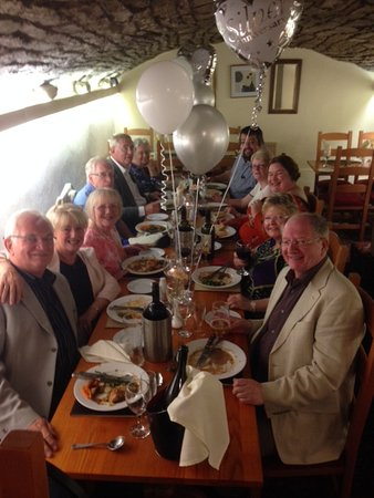 Padiham, UK: Celebrating our Silver Wedding with family and friends June 2017