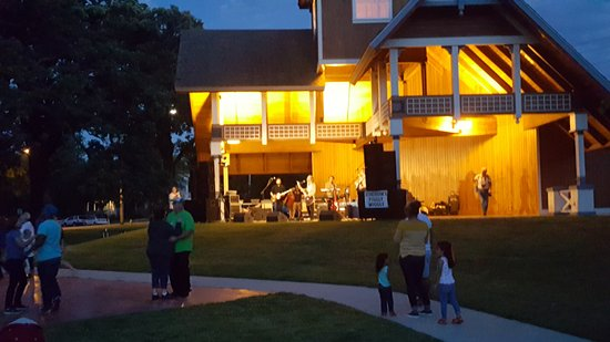 Delavan, WI: Fun into the night.