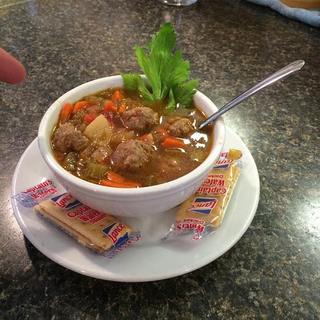 North Augusta, SC: Meatball soup
