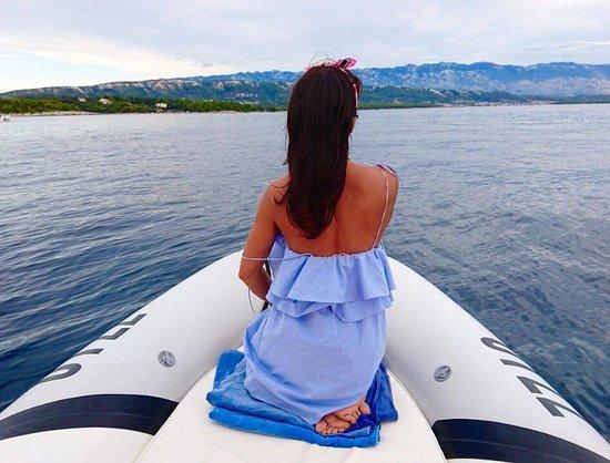 Rab Island, Croatia: Rent a boat Rab