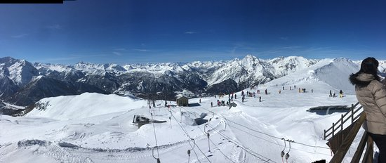Pragelato, Italie : 2700 m Sestrière