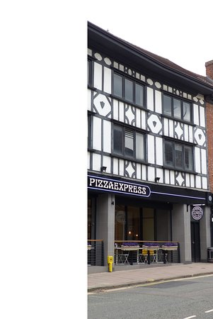 Exterior Of Pizza Express In Shrewsbury Picture Of Pizza