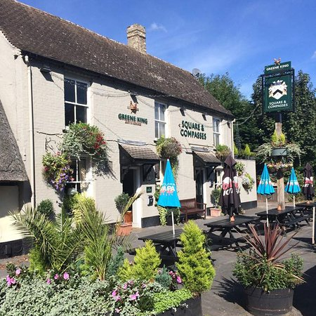 Great Shelford, UK: The Square & Compasses