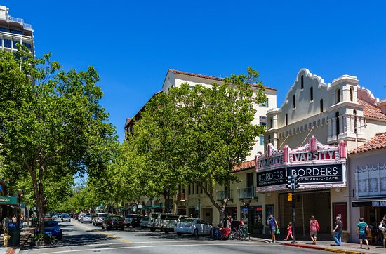 Menlo Park, CA: Downtown Palo Alto, just steps from the hotel