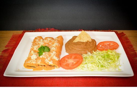 Taber, Канада: The Enchilada Meal is only one of our many Mexican dishes!