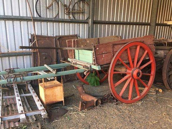Templin, Australia: Old buggy