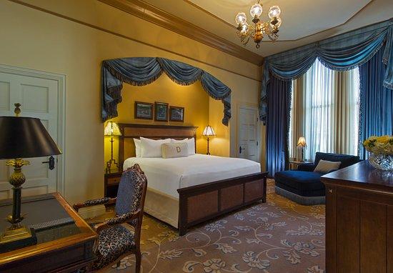 The Driskill: LBJ Suite Bedroom