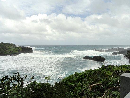 Hana Highway - Road to Hana: Waianapanapa State Park....Pa'iloa Beach..Black Sand Beach