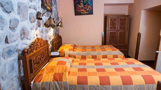 Amaru Hostal: Habitaciones amplias y confortables