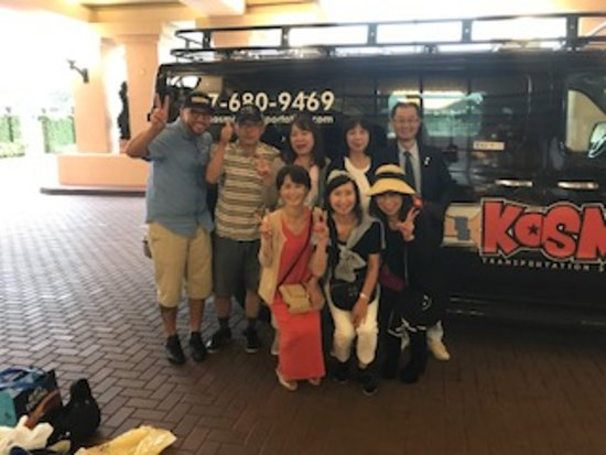 Kissimmee, FL: Japanese group visiting Orlando, FL