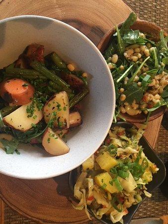 Husk Restaurant: Vegetarian Plate