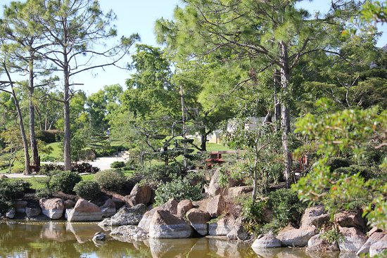 Beautiful scenery at the Morikami Japanese Gardens. - Picture of ...