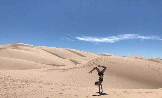 Niland, Kalifornie: My daugher posing for a memorable photo