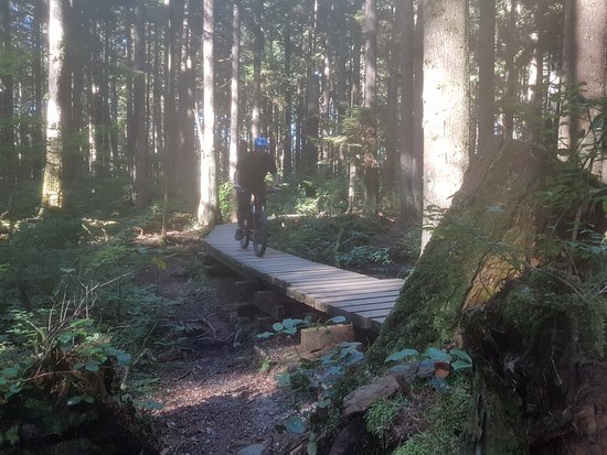 Vancouver Nord, Canada: Trail