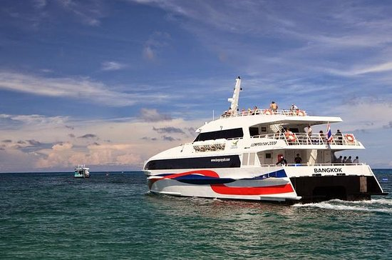 Krabi to Koh Tao by Lomprayah Coach...