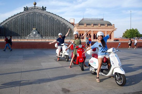 Madrid Guided or Self-Guided Vespa...