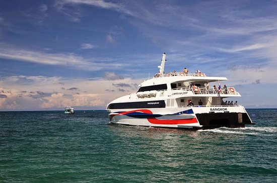 Surat Thani Tapi Pier to Koh Tao by Lomprayah High Speed Catamaran