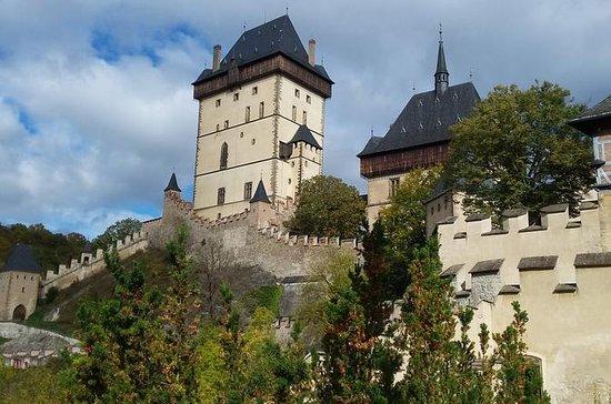 Bike tour to Karlstejn Castle from Prague