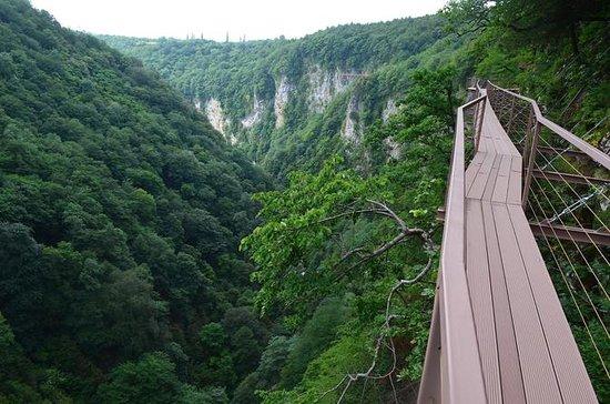 Grotte, Cascate e Canyon in 1 giorno