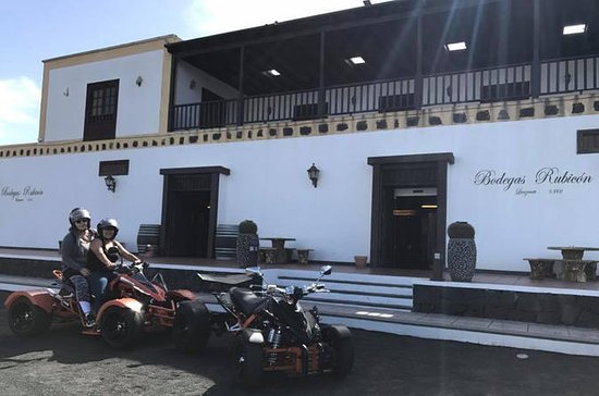 2-hour Wine Tour by Quad in Lanzarote