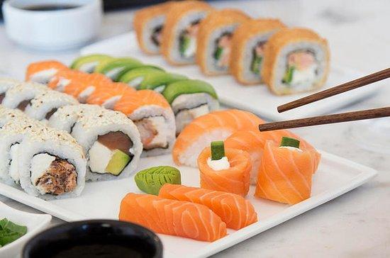 Dinner at 'Mizuki sushi' and 'Rojo...