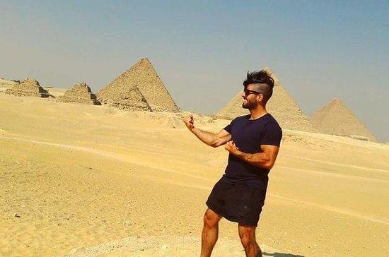 Pyramides de Gizeh quad bike ride de...