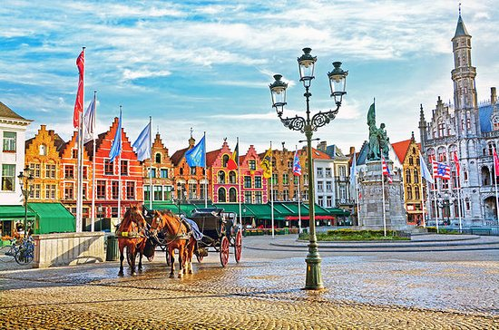 Dagtocht naar Brugge vanuit Brussel