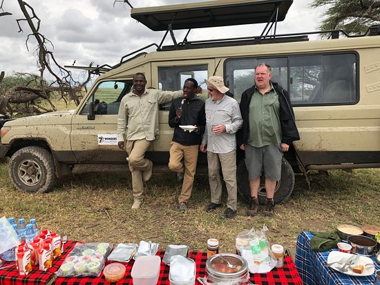 Kutani, Tanzania: Breakfast in Serengeti with Seven Wonders Safaris