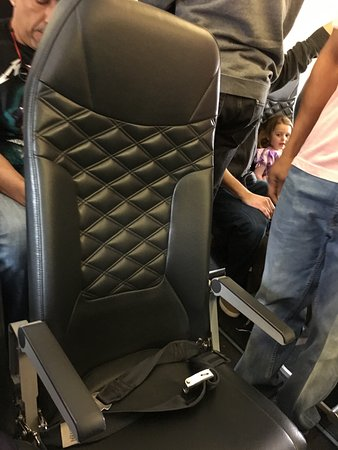 frontier airlines seat cushion